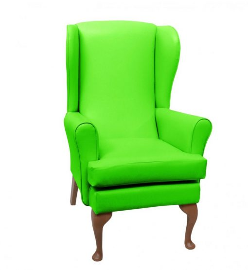 lc08 vinyl, www.retiredlifestyle.co.uk , high seat chairs, Fireside Chairs, high back chairs, wingback chair, elderly chairs.