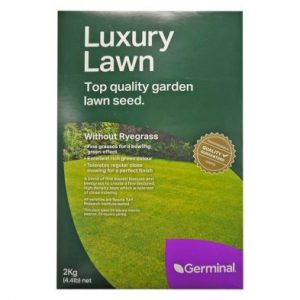 2Kg Luxury Lawn Seed 56 Square Metres Coverage