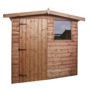 Albany Dart Garden Shed Brown 6' x 4'
