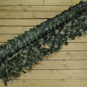 Artificial Hedge Green Ivy Leaf Privacy Screening Fence (1.5m x 3m)