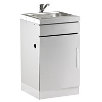 BeefEater Discovery 1100 Outdoor Kitchen Stainless Steel Cabinet with Sink