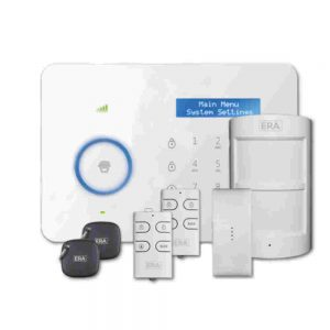 ERA Invincible Advanced Home Alarm Kit with Smartphone App