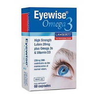 Lamberts High Strength Eyewise Omega 3 60 Capsules
