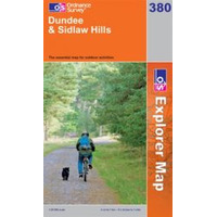 OS Explorer Map 380 Dundee & Sidlaw Hills
