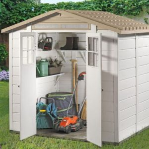 Tuscany EVO 200 2 Double Door Apex Garden Shed