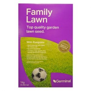 1Kg Family Lawn Seed With Ryegrass 28 Square Meters Coverage