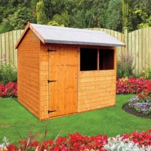 Albany Sheds Pytchley 8' x 6' Apex Shiplap Wood Garden Shed