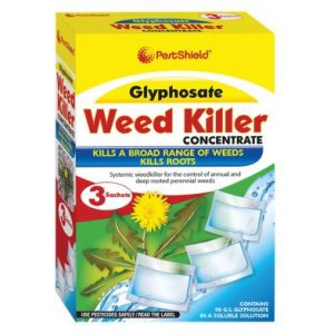 PestShield 3 Pack Glyphosate Weed Killer Concentrate